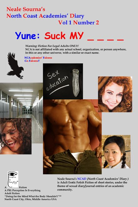 ebook cover NCAD 1.2 Yune: Suck My - - - -